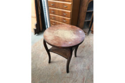 side table, unrestored, brown, great foot, veneer, antique, living, elegant, pattern, luxury, large, stable, pattern, table