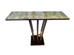Design console table oxide, Art Deco, Black, Colorful, Table, Wall Console, Narrow Table, Interior Design, Living room, Bedroom