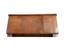 sideboard, unrestored, brown, great foot, veneer, antique, living, elegant, pattern, luxury, large, stable, pattern, beautiful