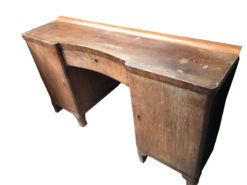 desk, unrestored, brown, great foot, veneer, antique, living, elegant, pattern, luxury, large, stable, pattern, table, desks
