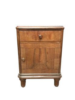 nightstand, unrestored, brown, great foot, veneer, antique, living, elegant, pattern, luxury, large, stable, pattern, commode