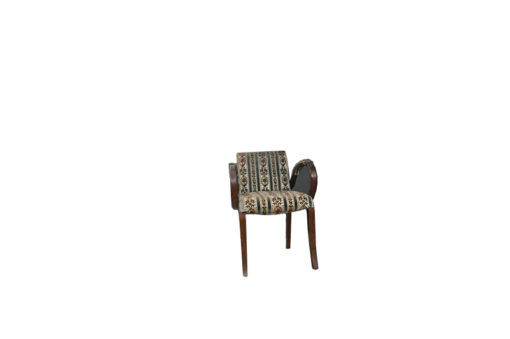 chair, unrestored, brown, great foot, veneer, antique, living, elegant, pattern, luxury, large, stable, pattern, upholstered