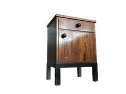 bedside table, unrestored, brown, great foot, veneer, antique, living room, elegant, pattern, luxury, large, stable, pattern, chest of drawers