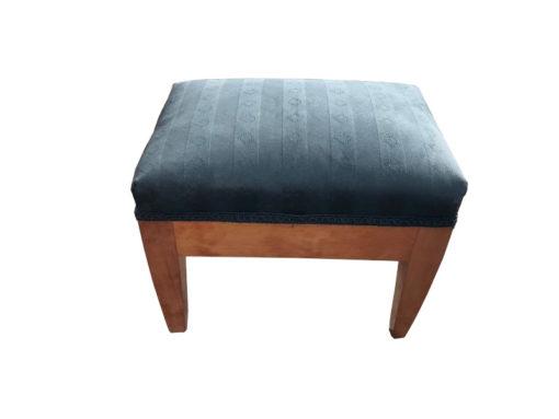 stool, unrestored, brown, ottomane, veneer, antique, living, elegant, pattern, luxury, large, stable, pattern, biedermeier