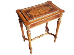 jardiniere, unrestored, brown, great foot, veneer, antique, living, elegant, pattern, luxury, large, stable, pattern, various, wood, woods