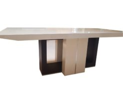 black, white, high, gloss, dining, table, design, germany, german, highgloss, lacquer, living, room , simple, elegant, luxurious