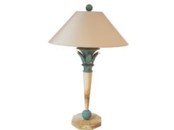 limited, edition, lamp, standing, standing, small, german, germany, simple, polished, living, room, green, copper, painted