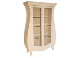 limited, edition, cabinet, standing, small, german, germany, simple, polished, living, room, wood, white, tulip, cupboard