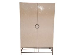 limited, edition, cabinet, standing, small, german, germany, simple, polished, living, room, armoire, chrome, storage, space