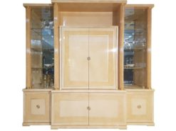 limited, edition, vitrine, standing, small, german, germany, simple, polished, living, room, cabinet, antique, pink, gold