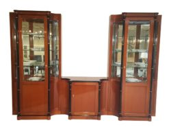 brown, biedermeier, cabinet, vitrine, wood, patttern, living, room, luxurious, cherry, veneer, design, beautiful, style, black