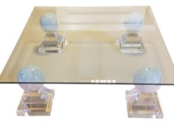 glass, table, sofa, cut, acrylic, legs, high, end, smooth, living, room, luxurious, design, style, one, of, a, kind, acrylic
