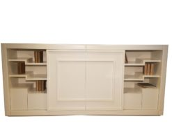 highboard, sideboard, living, room, luxurious, design, style, design, matt, white, compartments, free, TV, elegant, simple
