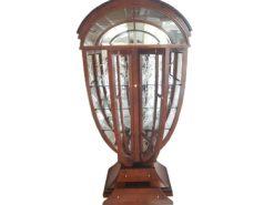 showcase, vitrine, mirror, olive, ashwood, illuminated, drawers, glass, displaying, illustrating, lamp, purpose, brown, doors