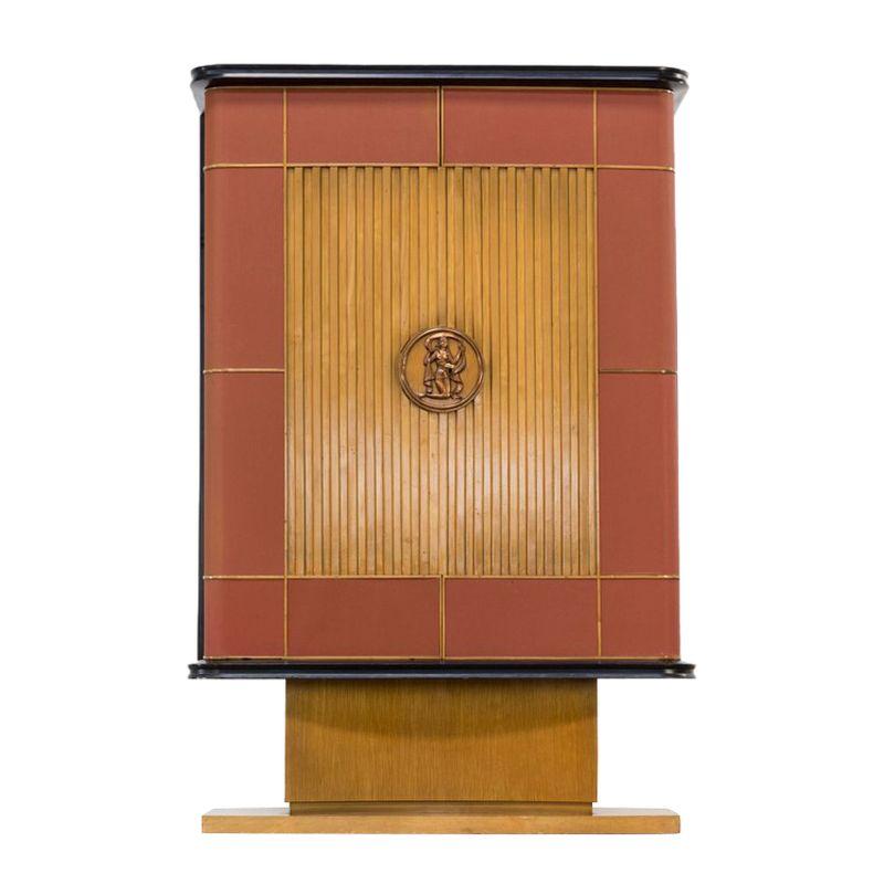 Art Deco Cabinet France Vintage 1920 Design Br