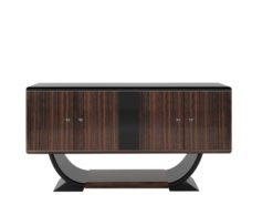 macassar, sideboard, small, art, deco, black, brown, old, new, restored, antique, design, style, living, small, furniture, wood