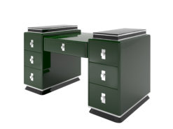 Modern Design Tower Desk in Jaguar Racing Green, Design furniture, tables, office furniture, interior design, luxury design, finish, high quality