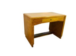 1930s Art Deco Desk made of Birdseye Maple, Original, Antique, furniture, interior design, vintage, authentic, luxurious, office furniture, home decor