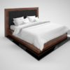 Macassar_Piano_Lacquer_Design_Replica_Bed_with_Leather_Upholstery_3