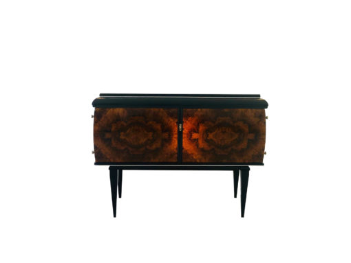 1930s Art Deco commode from paris with pointing feet, art deco furniture, interior design, restored furniture, luxury furniture