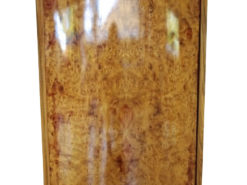 Round Elm Burl Art Deco Bar Cabinet 1930s, bar furniture, design furniture, art deco dry bars, furniture, lucury furniture, atniques, interior design