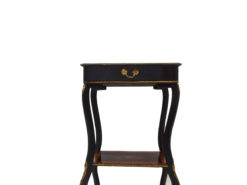 Antique End Table made of Fruitwood Empire Era from 1800, Antique furniture, original, restoration, france, 1800, luxury antiques