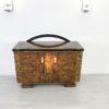 Caucasion Walnut Wood Art Deco Commode  1