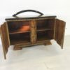Caucasion Walnut Wood Art Deco Commode 8