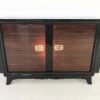 French Palisander Commode or Small Sideboard Brass Handles 9