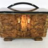 Caucasion Walnut Wood Art Deco Commode  2
