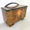 Caucasion Walnut Wood Art Deco Commode  3