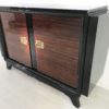 French Palisander Commode or Small Sideboard Brass Handles 8