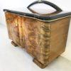 Caucasion Walnut Wood Art Deco Commode  4