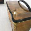 Caucasion Walnut Wood Art Deco Commode 5