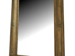 Round Top Antique Biedermeier Wall Mirror Gilt Frame, Biedermeier Mirror, Gilt Frame, Antique Mirror, Wall Mirror, Mirror Gilt Frame