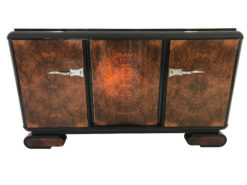Walnut Burl Wood Art Deco Sideboard from the 1920s, Art Deco Furniture, Design Furniture, Interior Design, Antique furniture, luxury furniture