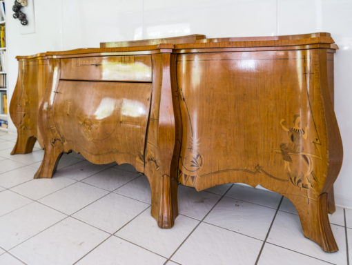 Rare 1920s Curved Art Deco Sideboard with Floral Motivs, Luxury Furniture, Design Furniture, Art Deco Furniture, Buffet, Credenza, Storage, Antiques