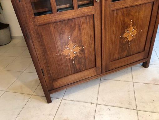 Original Art Nouveau Jugendstil Display Cabinet Original Antique