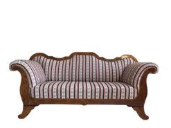 Dreamlike Restored Biedermeier Sofa Walnut Wood, Biedermeier Couch, Walnut Wood, Antique Sofa, Antique Furniture, Original Biedermeier, Austria Furniture