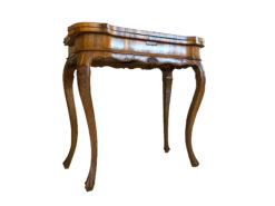 Baroque Style Game Table or Side Table Finely Crafted, Baroque Furniture, Antique Table, Folding Tabletop, Antique Sidetable