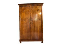 Original Biedermeier Cabinet Dresser Walnut Restored, Biedermeier Wardrobe, Antique Armoire, Biedermier Armoire, Biedermeier Furniture, Walnut Wood Cabinet