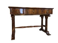 Restored Josef Danhauser Biedermeier Desk Secretary, Antique Furniture, Antique Bierdermeier Desk, Original Biedermeier, 19th Century Furniture