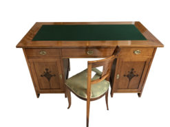Restored Art Nouveau Designer Desk from 1930-1940, Art Nouveau Secretary, Antique Desk, Antique Secretary, Designer Secretary