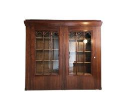 Large Vitrine Cabinet Jugendstil Book Shelve, Art Nouveau Carbinet, Original Jugendstil, Original Art Nouveau, Antique Book Shelve