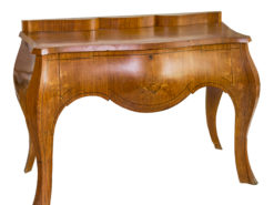 French Art Deco Console Table Made of Cherry Wood, Art Deco Consoles, Art Deco Furniture, French Furniture, Design Furniture