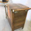 Art Deco Bar Cart Walnut Wood 4