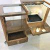 Art Deco Bar Cart Walnut Wood 2