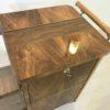Art Deco Bar Cart Walnut Wood 6