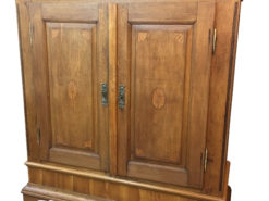 Baroque Ornamental Cabinet in Oak Wood from Germany, Baroque Cupboard, Original Baroque, Baroque Furniture, Antique Cabinet, Antique Cupboard