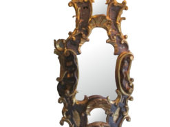 1750s Baroque Table Mirror Made of Basswood, Antique Mirror, Antique Table Mirror, Baroque Furniture, Barock Mirror, Basswood Mirror